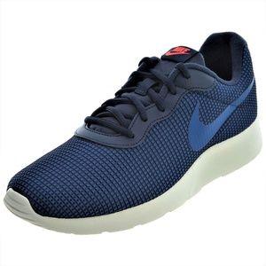 NEW blue Nike Tanjun SE Men's Running Shoe Sneaker